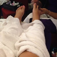 Photo taken at Luxurious Nails by Grace R. on 12/26/2013