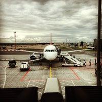 Photo taken at Riga International Airport (RIX) by Nikolay L. on 8/10/2013