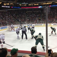Photo taken at Xcel Energy Center by Darren S. on 5/5/2013