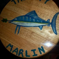 Photo taken at Thirsty Marlin Grill & Bar by Christine M. on 1/26/2013