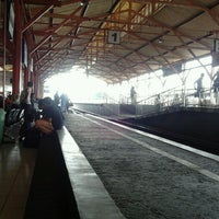 Photo taken at Stasiun Lempuyangan by Arnanda W. on 1/5/2013