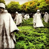 Photo taken at Korean War Veterans Memorial by Rachel G. on 10/8/2012