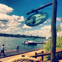 Photo taken at Mormaii Surf Bar by Pedro S. on 2/3/2013