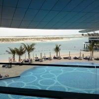 Photo taken at Jumeirah at Etihad Towers by MAN UAE on 3/21/2013