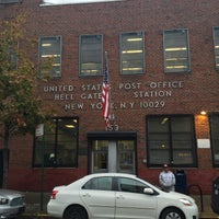 Photo taken at USPS Post Office - Hell Gate Station by Andrey R. on 11/12/2015
