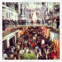 Photo taken at Toronto Eaton Centre by Sho T. on 12/26/2012