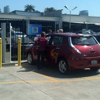 Photo taken at Nissan Downtown L.A. by Angela on 4/27/2013