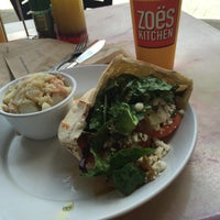 Photo taken at Zoës Kitchen by Jimmy D. on 7/7/2015