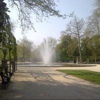 Photo taken at Warandepark / Parc de Bruxelles by Dominique F. on 5/7/2013