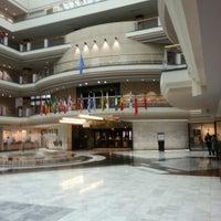 Photo taken at Atlanta City Hall by Mark H. on 2/7/2013