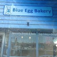 Photo taken at Blue Egg Bakery by radstarr on 3/23/2013