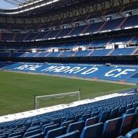 Photo taken at Santiago Bernabéu Stadium by Matheus L. on 7/20/2013