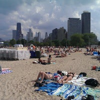 Photo taken at North Avenue Beach by Kevin E. on 6/23/2013
