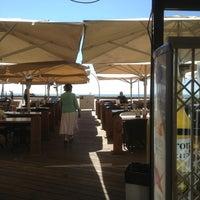 Photo taken at Bait Banamal - Restaurant (בית בנמל - המסעדה) by Vasyl R. on 7/4/2013