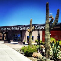 Photo taken at Phoenix-Mesa Gateway Airport (AZA) by Suzanne M. on 7/29/2013