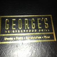 Photo taken at George's Neighborhood Grill by Alex C. on 1/21/2013