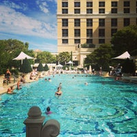 Photo taken at The Pool At Bellagio by Вячеслав Д. on 8/27/2013