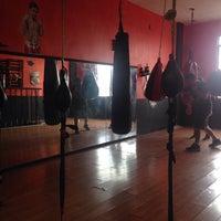 Photo taken at Ojo De Tigre Box y Muay Thai by Myriam G. on 6/19/2015