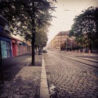 Photo taken at Ortenovo náměstí (tram) by Ondřej H. on 10/13/2013