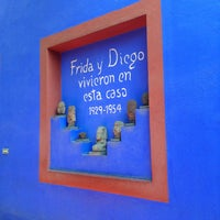 Photo taken at Museo Frida Kahlo by JuanCa! on 3/24/2013