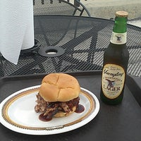 Photo taken at Hickory River BBQ by Steven Z. on 9/7/2013
