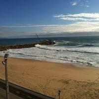 Photo taken at Praia do Norte by Rui F. on 4/20/2012