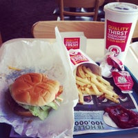 Photo taken at Wendy's by Nathaniel G. on 1/10/2013
