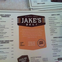 Photo taken at Jake's Deli by Haitham M. on 5/24/2013