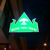 Photo taken at Rom Mai Thai by Christopher B. on 12/22/2012
