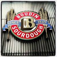 Photo taken at Boudin Bakery Café Baker's Hall by Lindsey R. on 10/15/2012