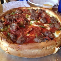 Photo taken at Papa Del's Pizza by Chris N. on 6/28/2013