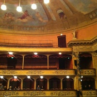 Photo taken at Teatro Storchi by Giulia T. on 1/26/2013