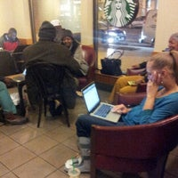 Photo taken at Starbucks by Anna J. on 11/9/2012