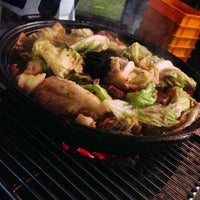 Photo taken at Gerai Makanan Japanese BBQ by Queenie P. on 8/31/2013