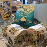Photo taken at Which Wich? Superior Sandwiches by Michelle on 9/4/2014