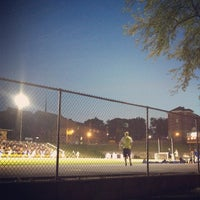 Photo taken at The Rock Bowl @ Loras College by Margaret S. on 9/4/2013