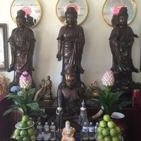 Photo taken at Thien Vien Chan Nguyen Buddhist Temple by Nick T. on 10/18/2014