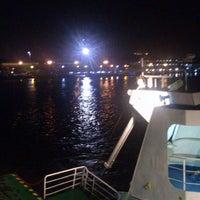 Photo taken at pelampung penyebrangan ferry prima eksekutif by Richie on 11/11/2013