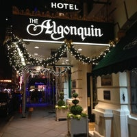 Photo taken at Algonquin Hotel, Autograph Collection by Shinya S. on 12/6/2012