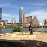Photo taken at Lady Bird Lake Trail by Tori S. on 3/18/2013