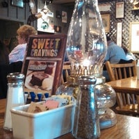 Photo taken at Cracker Barrel Old Country Store by JUDY S. on 10/26/2013