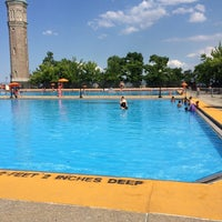 Photo taken at Highbridge Park Pool by Marcus I. on 7/11/2014