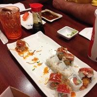 Photo taken at Ninja Sushi by Stephanie V. on 12/5/2013