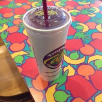 Photo taken at Tropical Smoothie Cafe by Sean M. on 10/21/2012