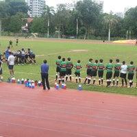 Photo taken at CCAB Stadium by KýlęAārön🌹 ك. on 8/18/2014