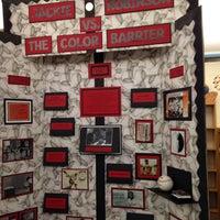 Photo taken at Winburn Middle School by Amanda F. on 2/20/2014