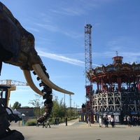 Photo taken at The Machines of the Isle of Nantes by Leny B. on 9/30/2012