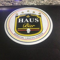 Photo taken at Haus Bier by Kelly M. on 3/14/2014