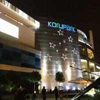 Photo taken at Korupark by Cihat A. on 2/16/2013