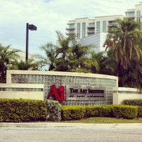 Photo taken at The Art Institute of Fort Lauderdale by Christopher E. on 11/5/2012